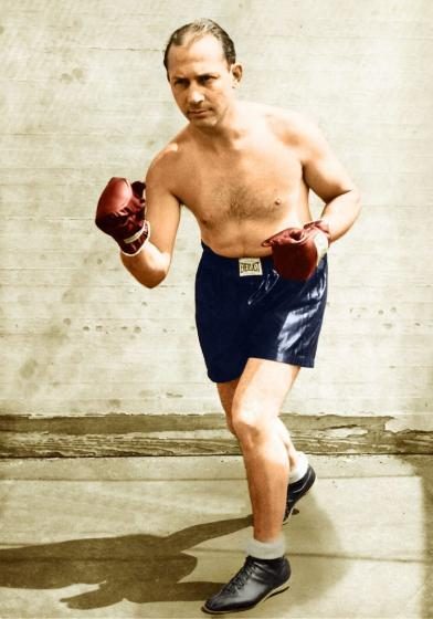 Benny_Leonard_Ghetto_Wizard_Boxing_Color_Photograph